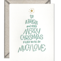 ink meets paper IMPGCHO0010 - Christmas Tree Lettering