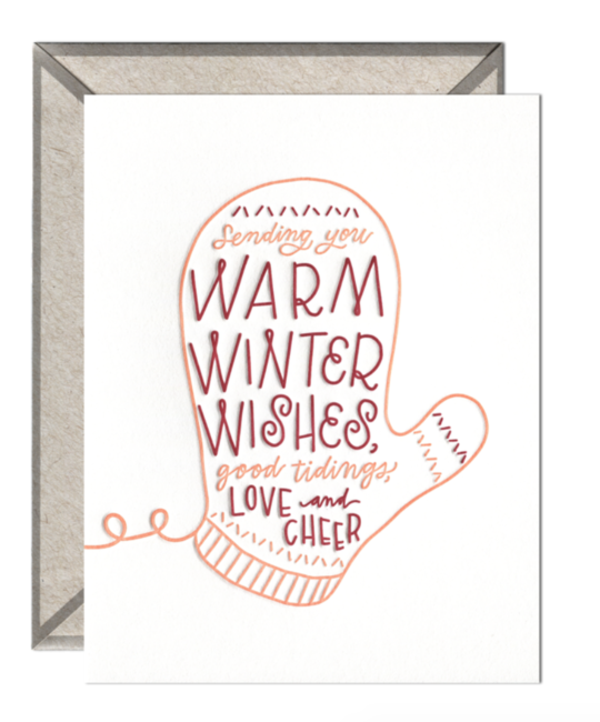 ink meets paper IMPGCHO0009 - Warm Wishes Mittens