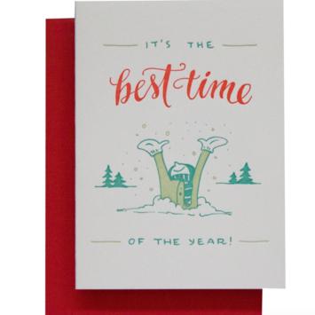 Ladyfingers Letterpress - LF LFGCHO0014 - Best Time of The Year