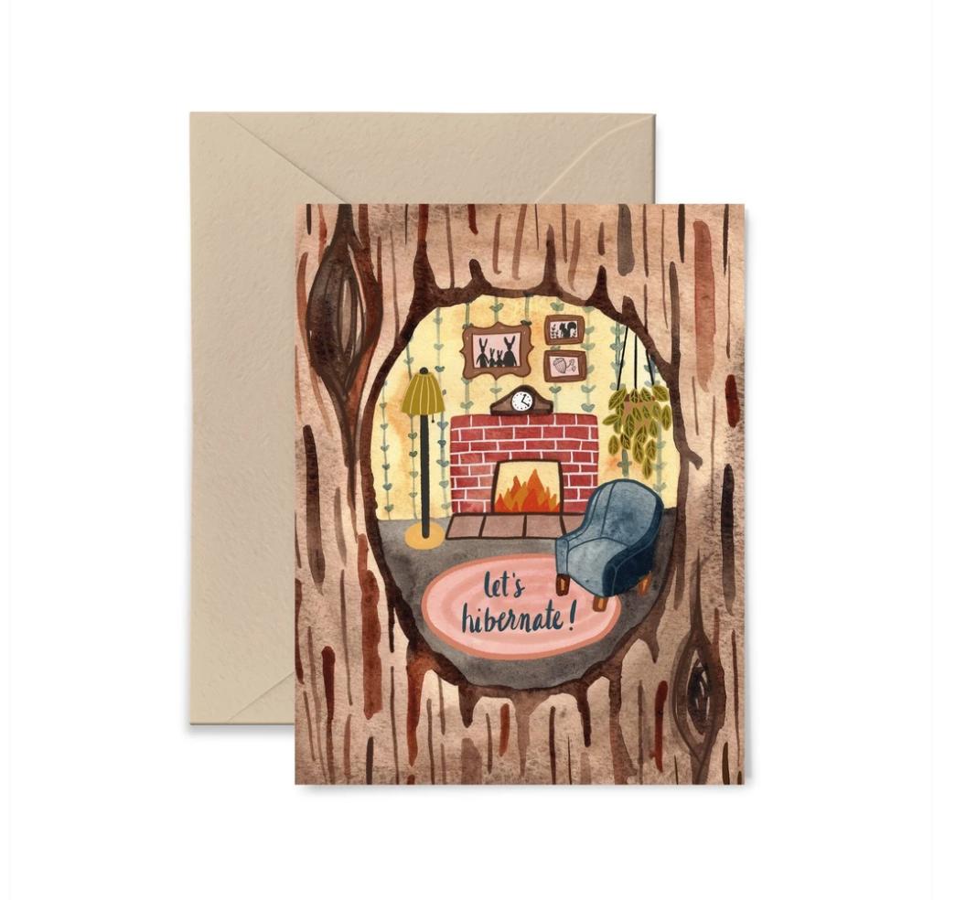 Little Truths Studio - LTS LTSGCLO0002 - Let's Hibernate