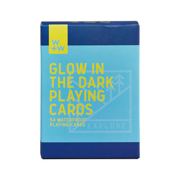 W + W Glow in the Dark Playing Cards