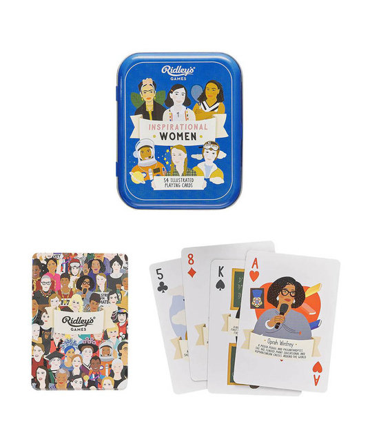 Wild and Wolf - WW Inspirational Women Playing Cards