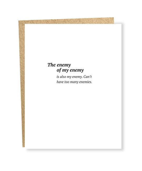 Sapling Press - SAP Enemy Card
