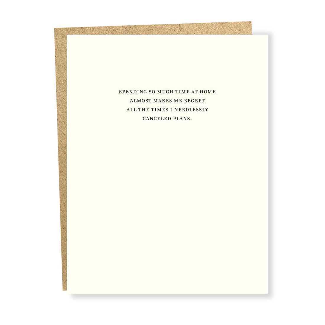 Sapling Press - SAP Regret Card