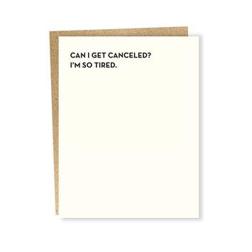 Sapling Press - SAP So Tired Card