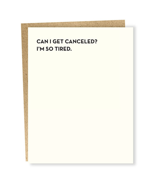 Sapling Press - SAP So Tired Card