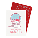 Smudge Ink - SI Boston Snowglobe Cards, set of 8