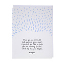 Smudge Ink - SI Raindrops Quote Sympathy Card