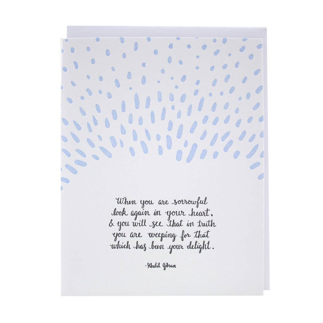 Smudge Ink - SI Raindrops Quote