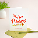 Friendly Fire Paper Happy Holidays, Egg Nog