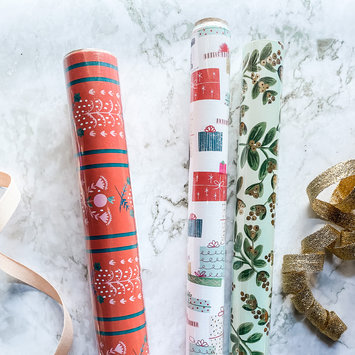 Gus and Ruby Letterpress - GR Pretty Presents Set of 3 Wrapping Paper Rolls