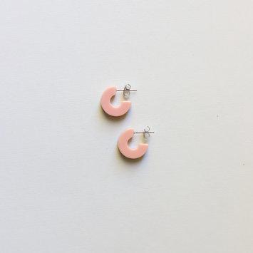 Nat + Noor - NAN Mali Earrings in Rosy