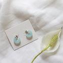 Nat + Noor - NAN Mali Earrings in Topaz