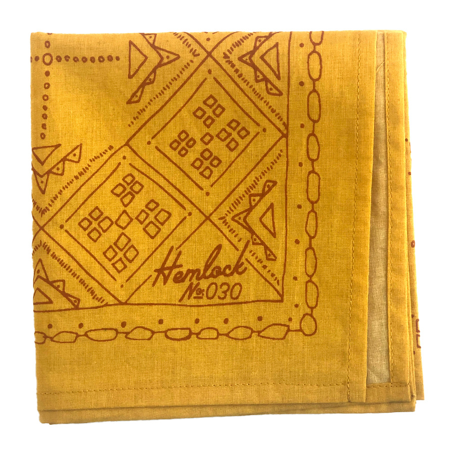 Hemlock Goods - HG Hemlock Goods - No. 030 Goldie Bandana