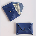 IMMODEST COTTON x Fleabags Immodest Cotton - Credit Card Envelope, Blue