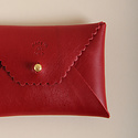 IMMODEST COTTON x Fleabags Immodest Cotton - Credit Card Envelope, Ruby