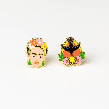 yellow owl workshop Frida Kahlo Earrings