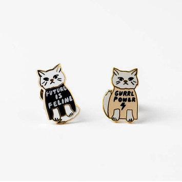 yellow owl workshop Grrrl Power Earrings