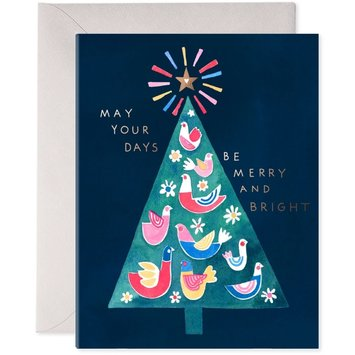 E. Frances Paper Studio - EF Merry Tree Card