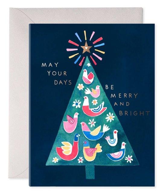 E. Frances Paper Studio - EF Merry Tree Card
