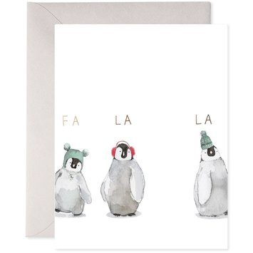 E. Frances Paper Studio - EF EFGCHO0018 - Cozy Penguins Card