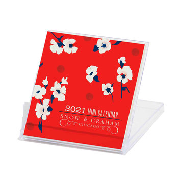 Snow and Graham - SG Snow & Graham - Mini 2021 Desk Calendar