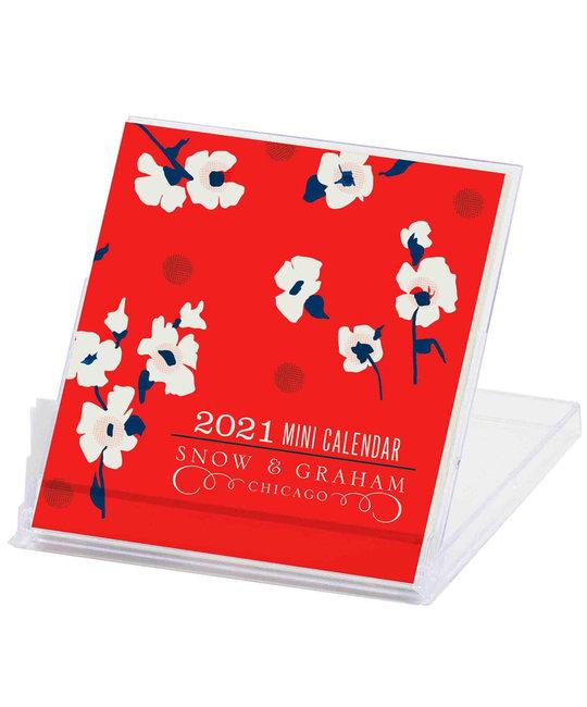 Snow and Graham - SG Snow & Graham - Mini 2021 Desk Calendar