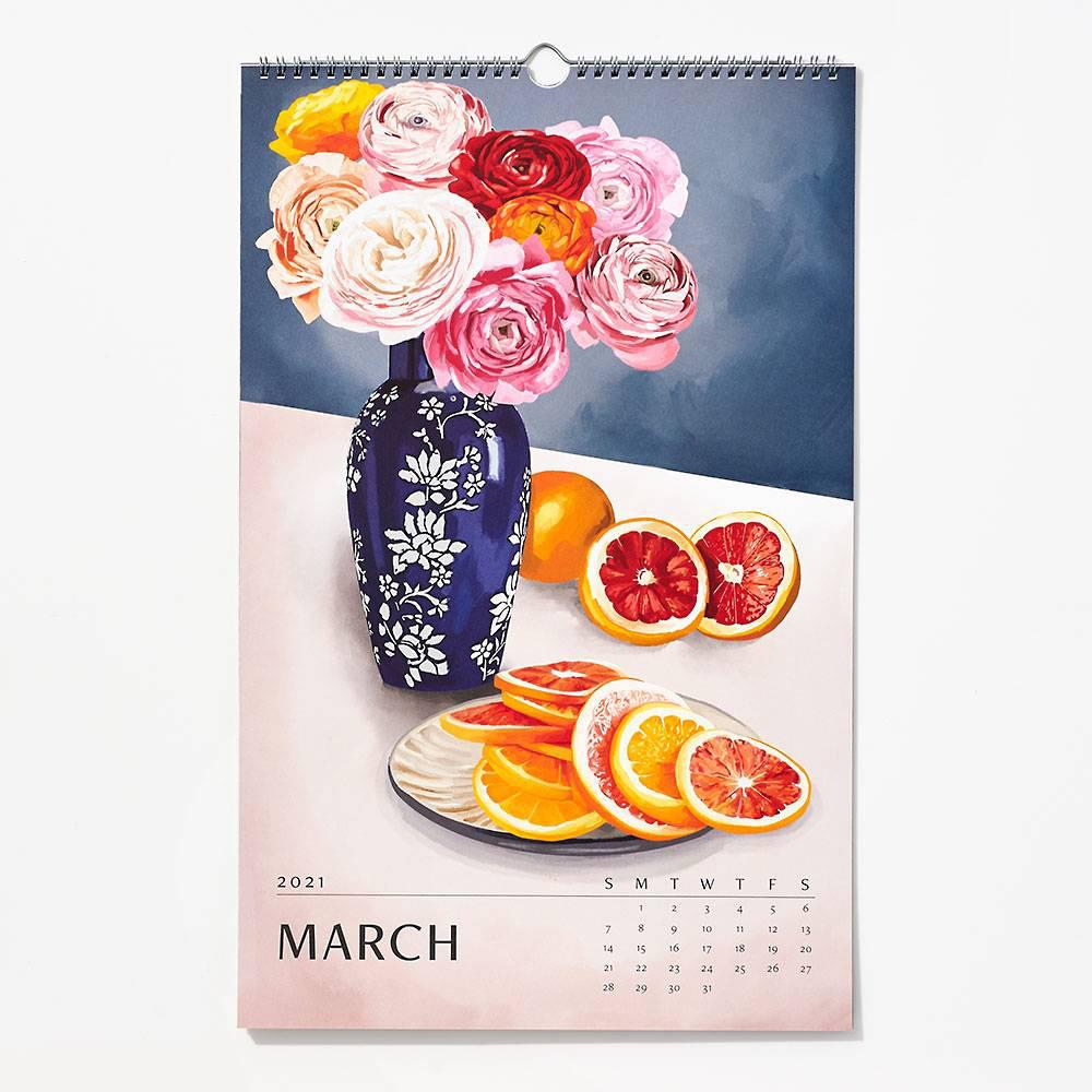 Waste Not Paper - WN Paper Source - 2021 Wall Art Calendar