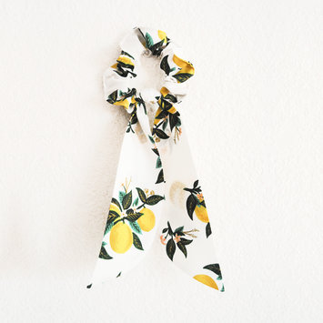 Felicity Howells - FH Lemons Hair Scrunchie
