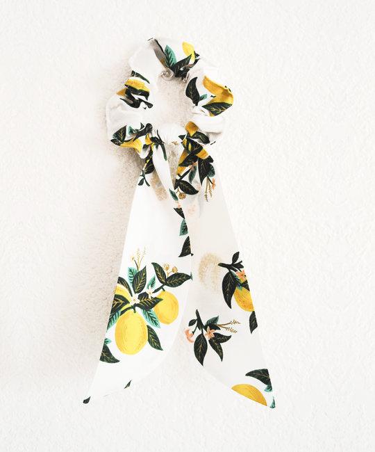 Felicity Howells - FH Rifle Paper Co Lemons Hair Scrunchie