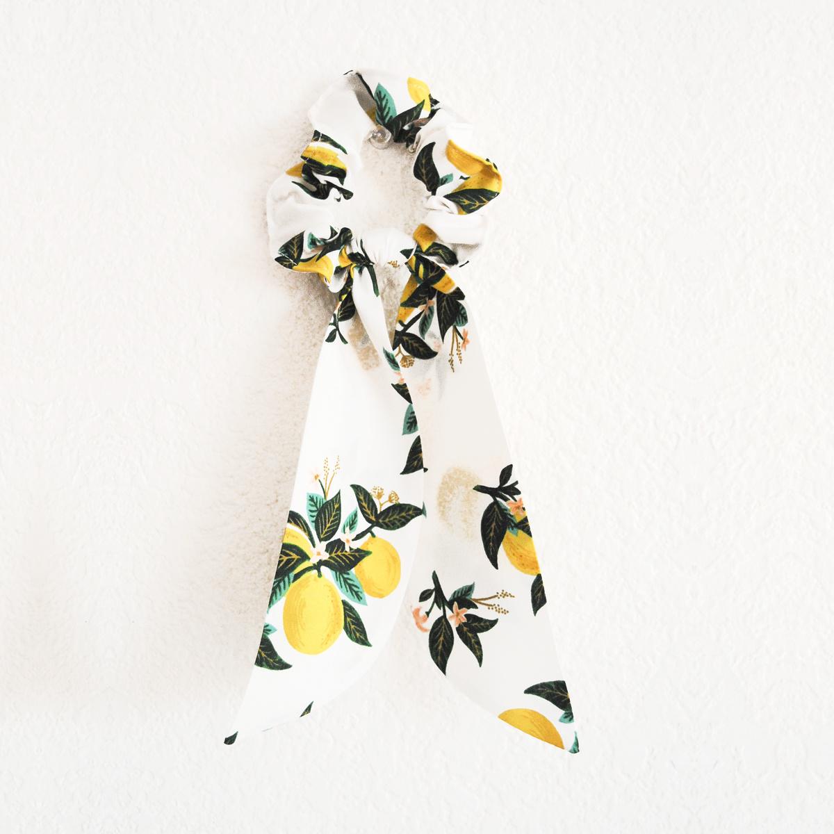Felicity Howells - FH Lemons Hair Scrunchie