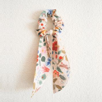 Felicity Howells - FH Rifle Paper Co Blush Strawberry Fields Hair Scrunchie