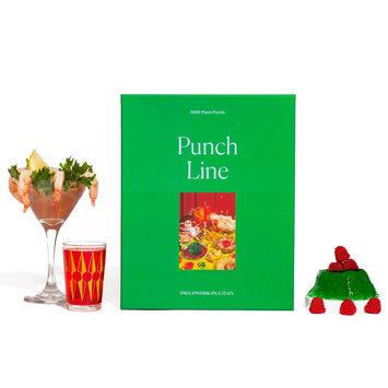 Piecework Puzzles - PIEP Punch Line 1000-Piece Puzzle