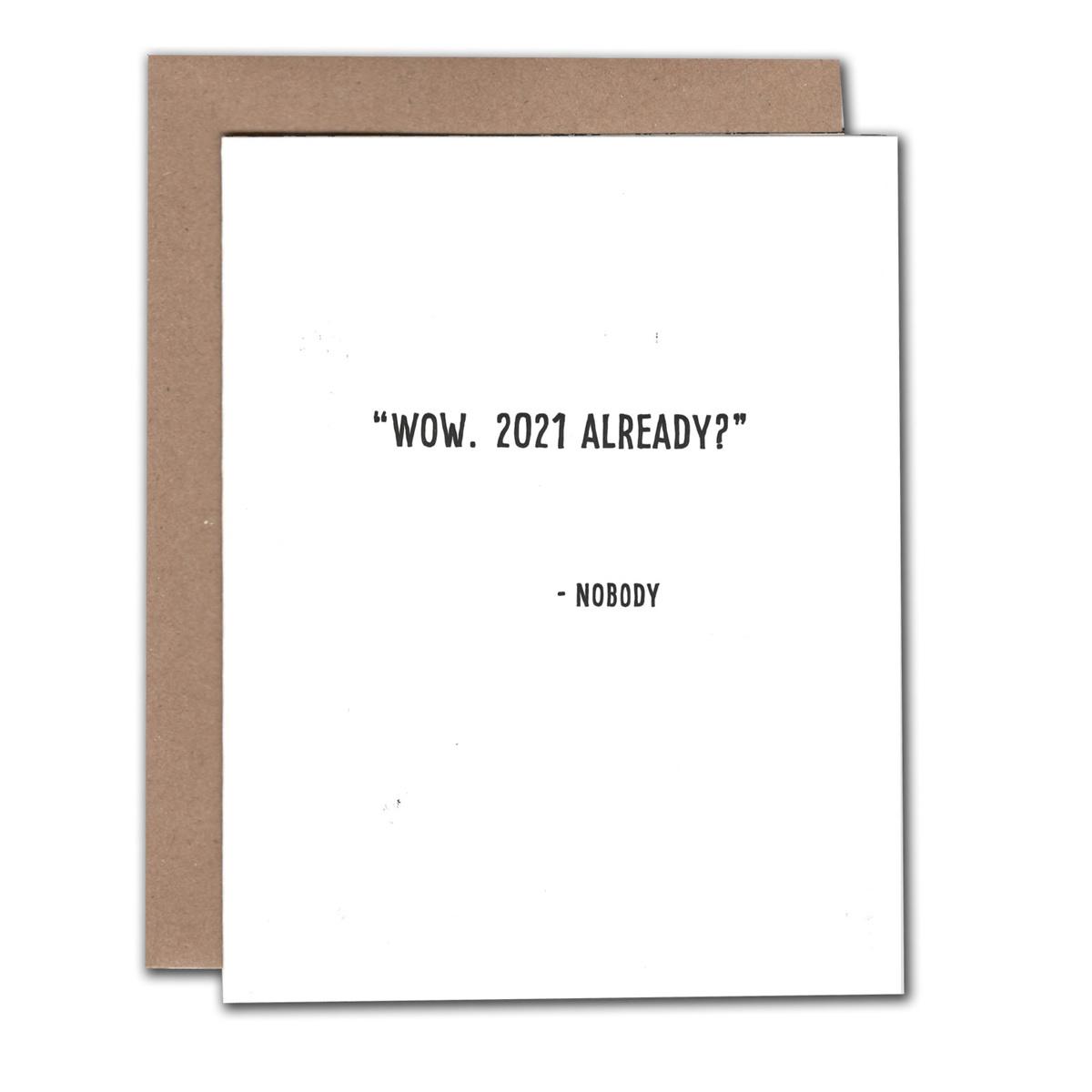 Power and Light Letterpress - PLL Wow 2021 Already