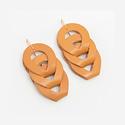 Dear Survivor - DS Dear Survivor- Honey Woven Earrings