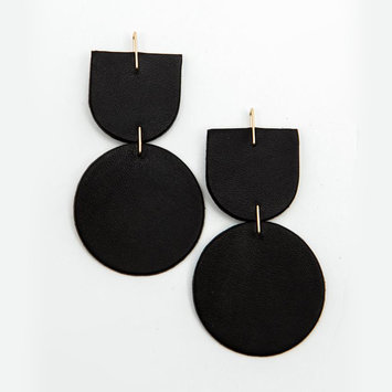 Dear Survivor - DS Dear Survivor - Black Mocu Earrings