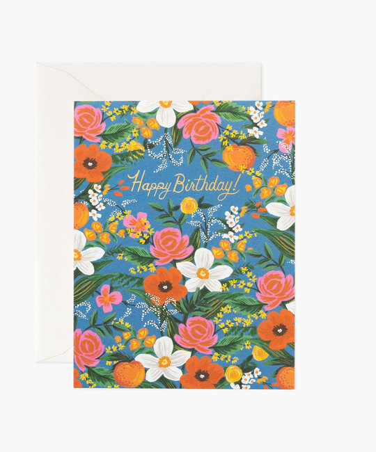 Rifle Paper Co - RP Rifle Paper Co - Orangerie Birthday