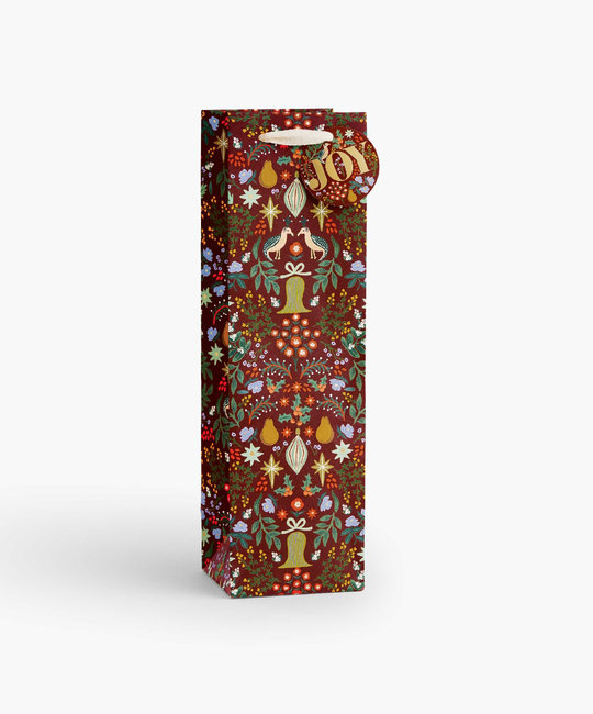 Rifle Paper Co - RP Rifle Paper Co - Partridge Wine Gift Bag