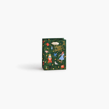 Rifle Paper Co - RP Rifle Paper Co - Nutcracker Small Gift Bag