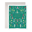 E. Frances Paper Studio - EF Fun Forest Happy Holidays - Set of 8