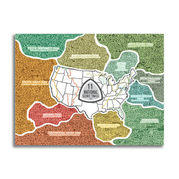 Brainstorm Print and Design - BS COMING SOON - National Scenic Trails 500 Piece Puzzle