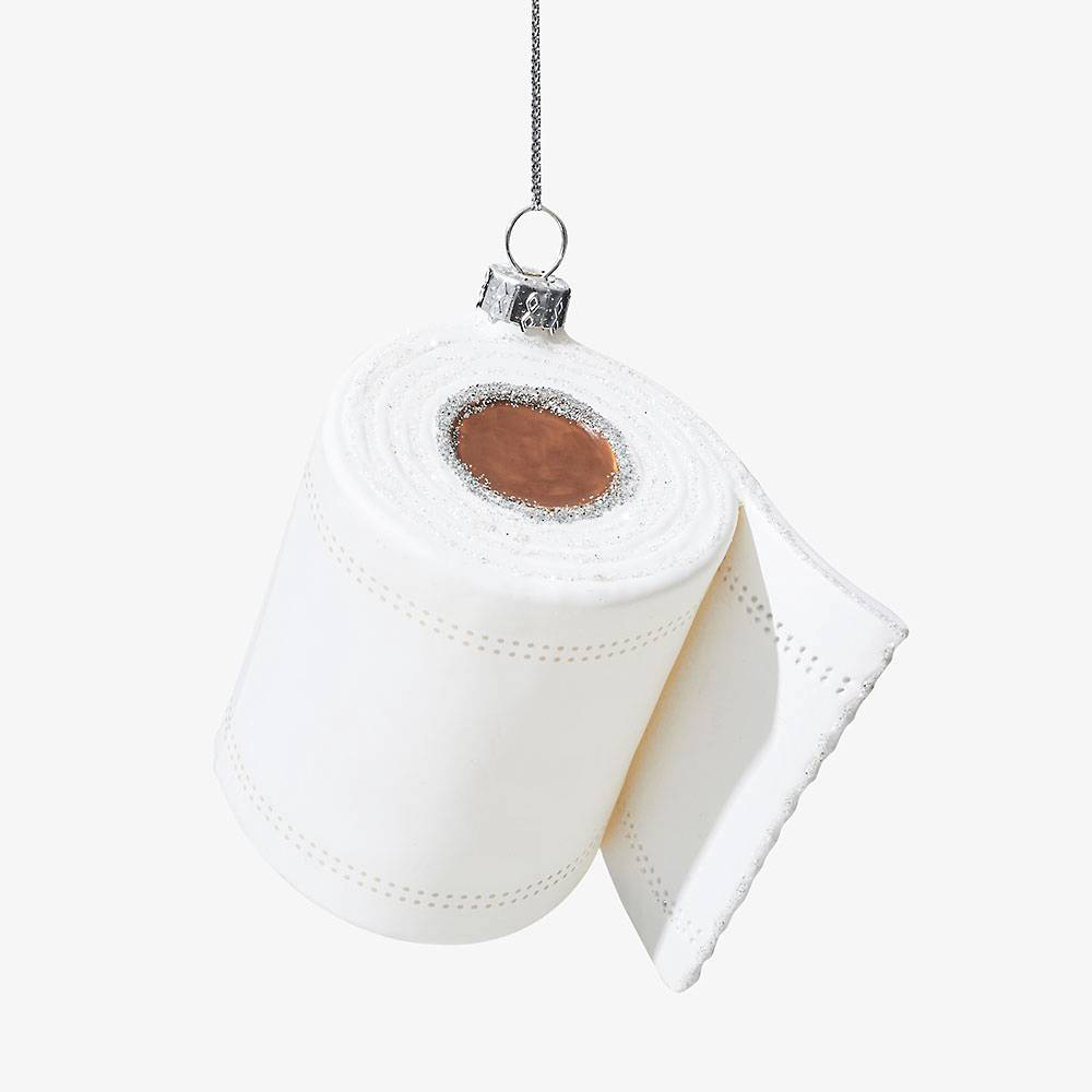 Waste Not Paper - WN Toilet Paper Ornament