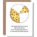 Power and Light Letterpress - PLL PLLGCFR0036 - Half Pizza