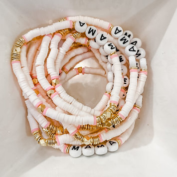 Sweet EK Designs - SWD Mama Beaded Bracelet