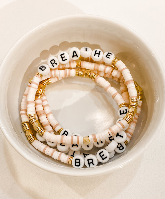 Sweet EK Designs - SWD Breathe Beaded Bracelet