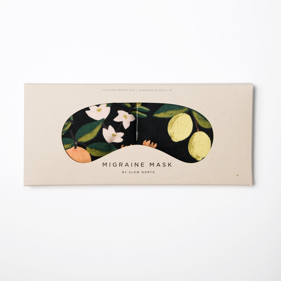 Slow North - SN Slow North - Citrus Floral Eye Mask