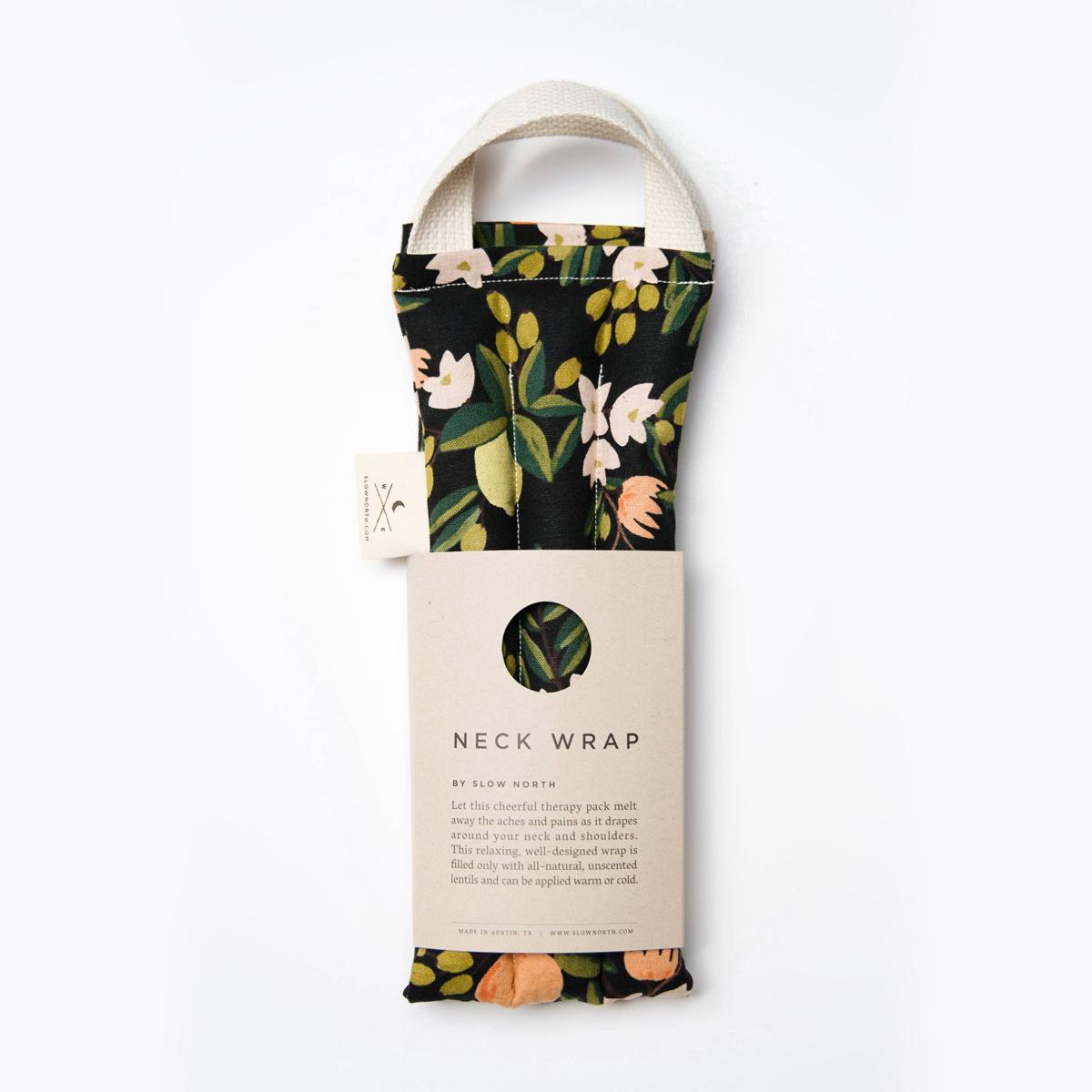 Slow North - SN Slow North - Citrus Floral Neck Wrap