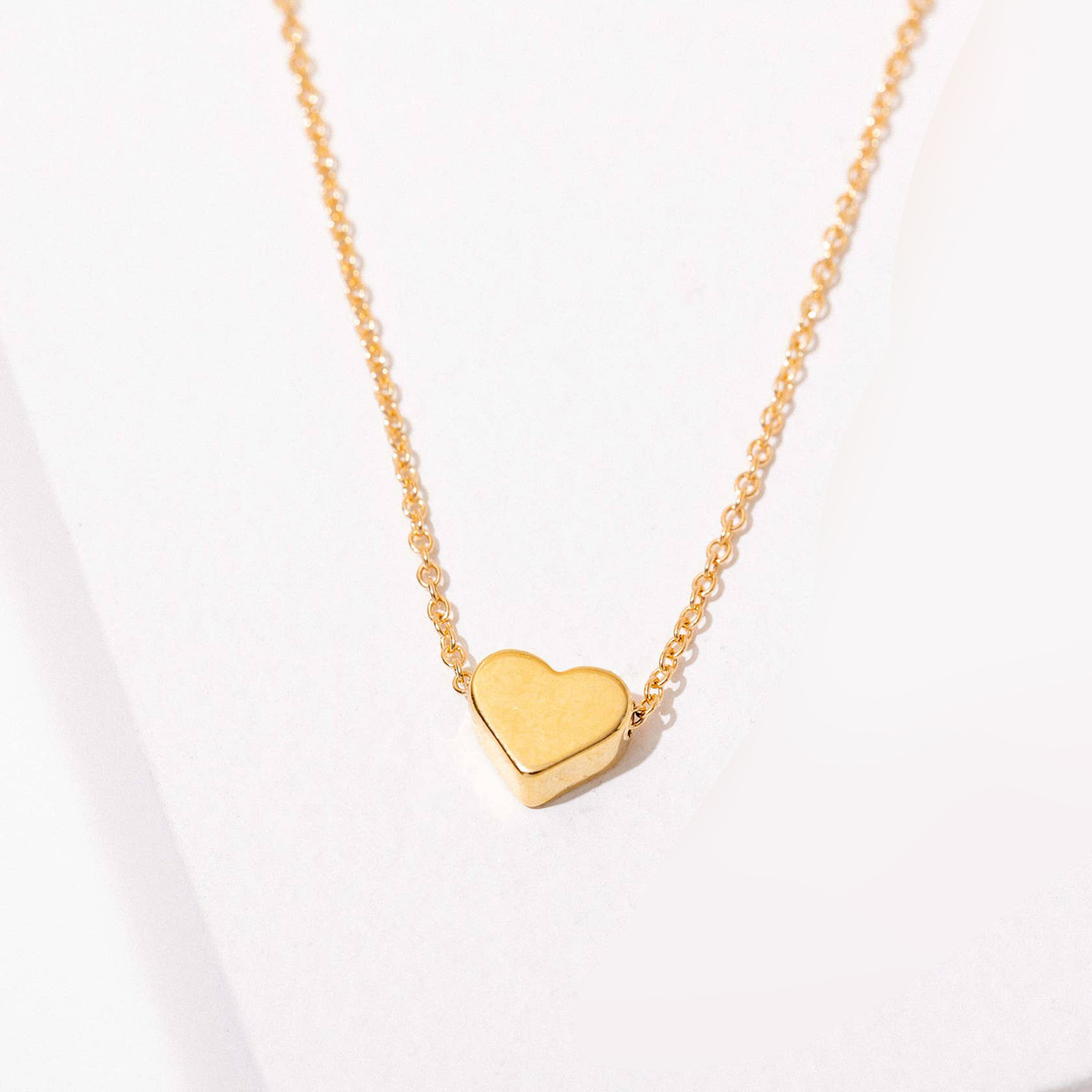 Larissa Loden Jewelry - LLJ 24k Gold Plated Heart Necklace