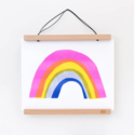 yellow owl workshop YOW PR - Rainbow Riso Print