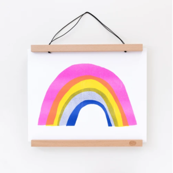 yellow owl workshop YOW PRSM - Rainbow Riso Print, 11 x 14 inch